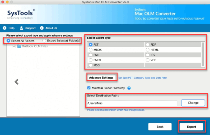 olm to ics converter