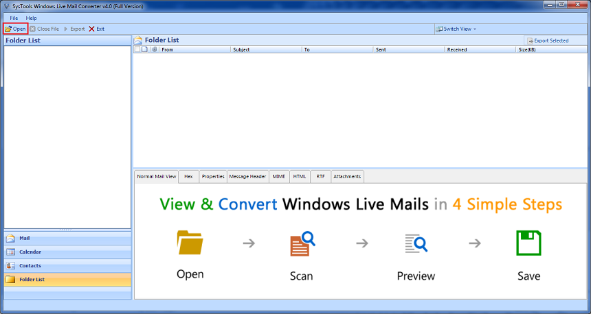 windows live mail to pst