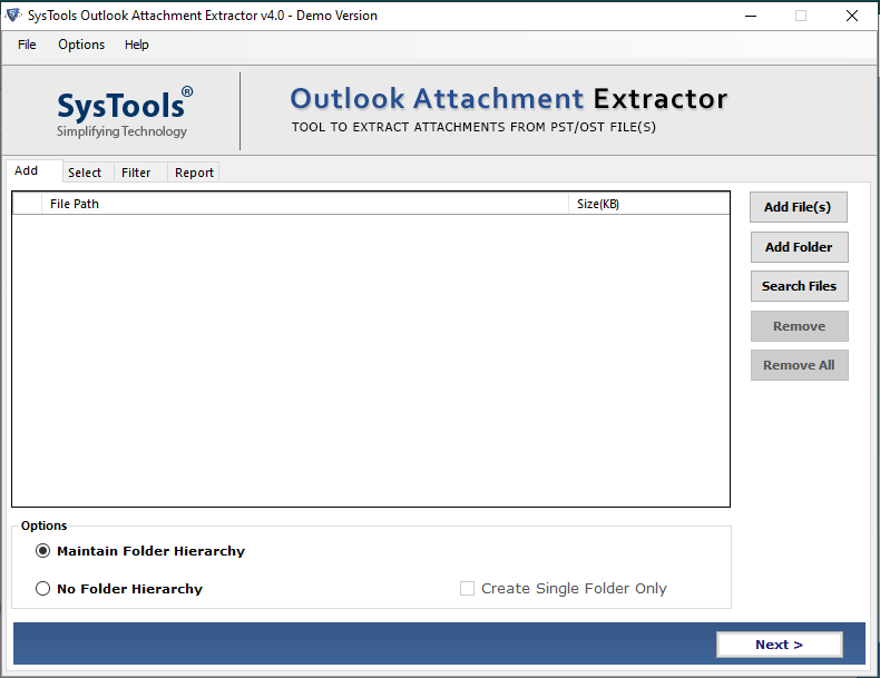 extract attachments from eml file