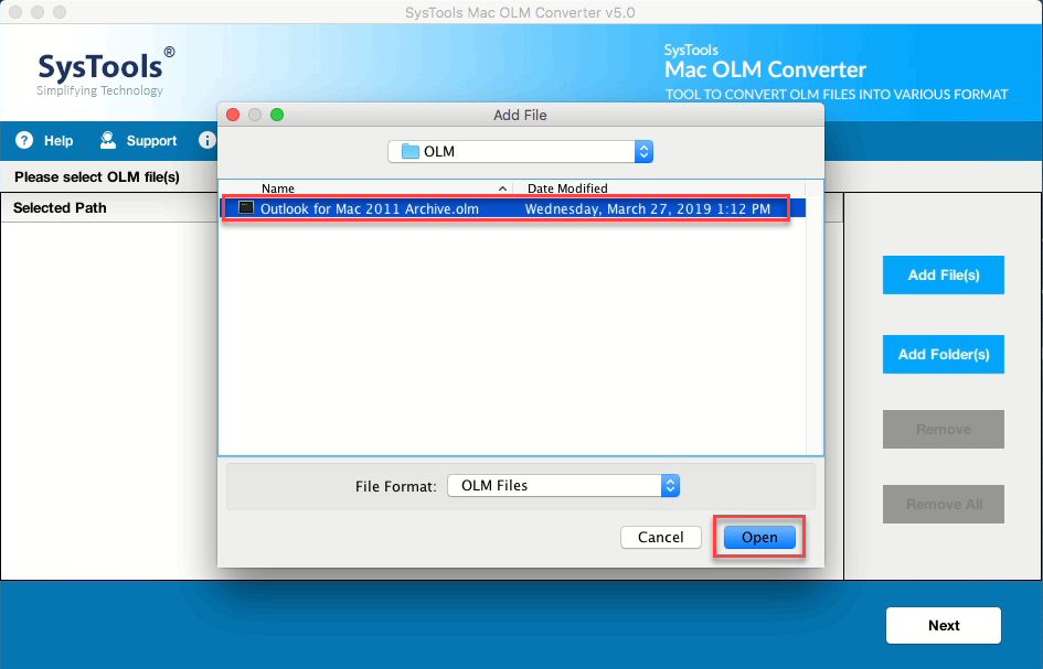 convert olm contacts to vcf
